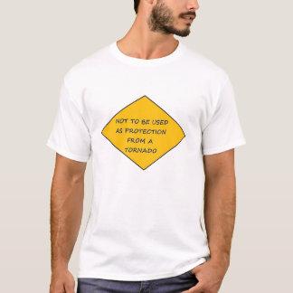 トルネード警告 Tシャツ