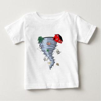 トルネード ベビーTシャツ