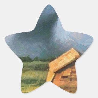 トルネード 星シール