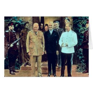 トルーマンおよびヨシフ・スターリン大統領 カード