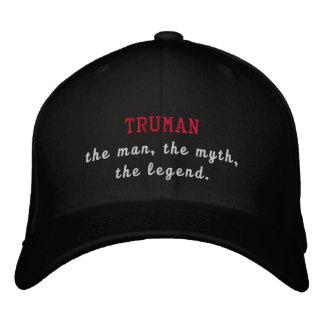 トルーマン伝説 刺繍入りキャップ