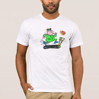 トレッドミルは2つを表現します Tシャツ