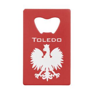 トレドのポーランドのワシの栓抜き クレジットカード ボトルオープナー