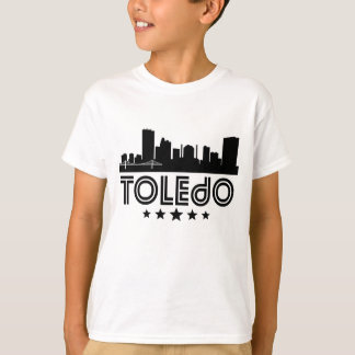 トレドのレトロのスカイライン Tシャツ
