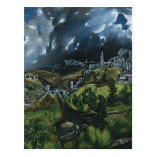 トレドのEl Grecoの眺め ポストカード