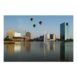 トレドオハイオ州都市ポスター ポスター