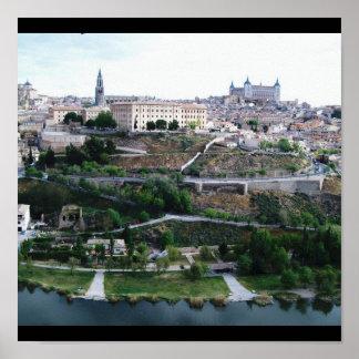 トレドスペインのプリント ポスター