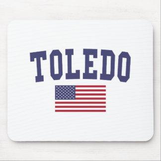 トレド米国の旗 マウスパッド
