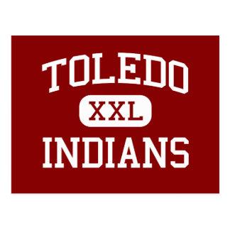 トレド-インディアン-高等学校-トレドワシントン州 ポストカード