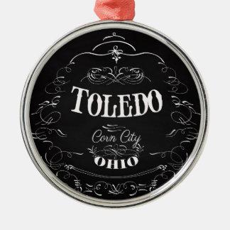 トレド、オハイオ州-トウモロコシ都市 メタルオーナメント