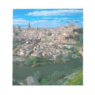 トレド、スペイン古代市 ノートパッド