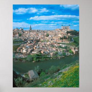 トレド、スペイン古代市 ポスター
