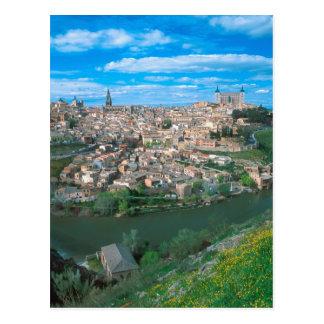 トレド、スペイン古代市 ポストカード