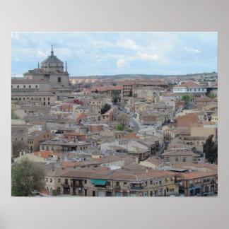 トレド、スペイン ポスター