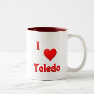 トレド -- 赤い ツートーンマグカップ