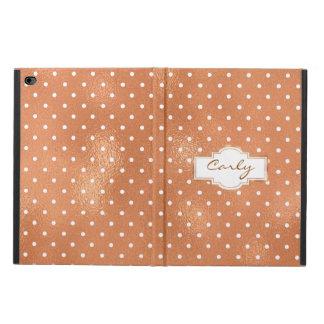 トレンディーのばら色の金ゴールドのiPadの空気2箱 Powis iPad Air 2 ケース