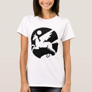 トレンディーのクールでおもしろいな女性 Tシャツ