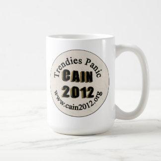トレンディーのパニック コーヒーマグカップ