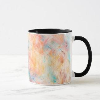 トレンディーの抽象的な壁紙のデザイン マグカップ