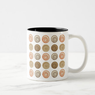 トレンディーの抽象芸術 ツートーンマグカップ