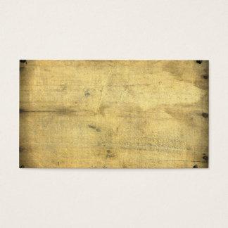 トレンディー空白のなヴィンテージによって老化させる木刺激を受けたな素朴 名刺