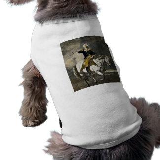 トレントンのジョージ・ワシントン 犬用袖なしタンクトップ