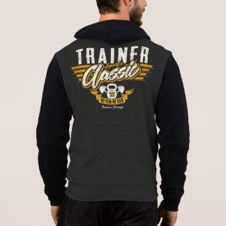 トレーナーは体育館のクラシックな大学のフード付きスウェットシャツを遊ばします パーカ