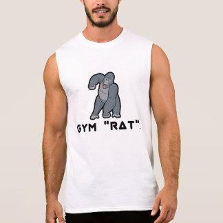 トレーニングのゴリラ 袖なしシャツ