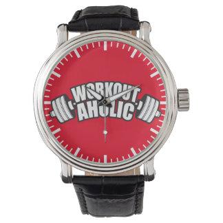 トレーニングのユーモア- Workoutaholic 腕時計