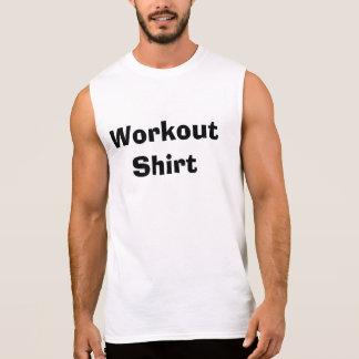トレーニングのワイシャツ 袖なしシャツ
