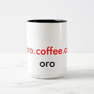 トロのコーヒーCo.高級なOroマグ ツートーンマグカップ
