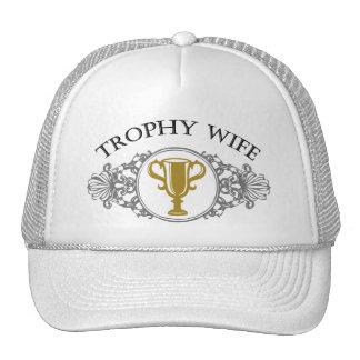 トロフィの妻の帽子か帽子 キャップ