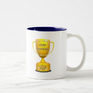 トロフィの義母の母の日のギフト ツートーンマグカップ