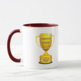 トロフィの養母の母の日のギフト マグカップ
