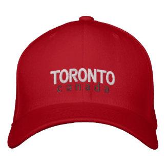 トロントのカナダによって刺繍される帽子 刺繍入りキャップ