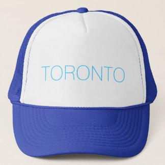 トロントのトラック運転手の帽子-ヴィンテージの青 キャップ