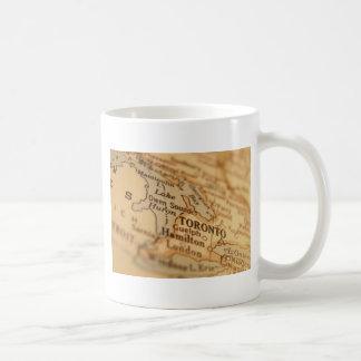 トロントのヴィンテージの地図 コーヒーマグカップ