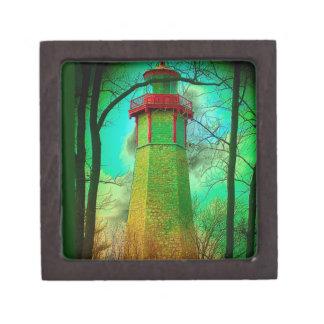 トロントの中心の島の最も古い灯台 ギフトボックス