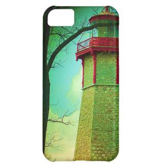 トロントの中心の島の最も古い灯台 iPhone5Cケース