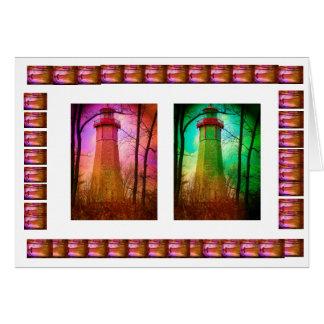 トロントの島-最も古い灯台 カード