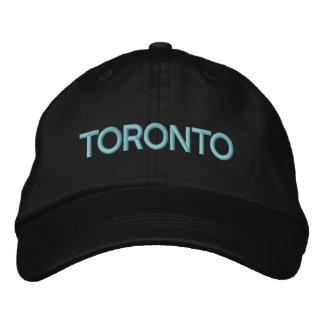 トロントの帽子 刺繍入りキャップ
