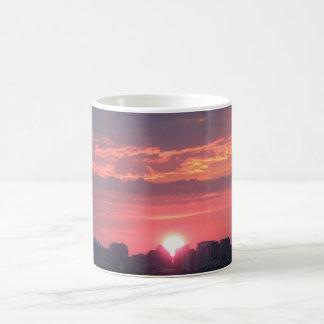 トロントの日没 コーヒーマグカップ