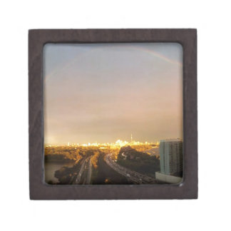 トロントの東の地平線: 西眺めの型枠QUEENSWAY ギフトボックス