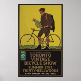 トロントの自転車ショー ポスター