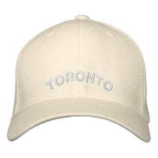 トロントの記念品の野球帽の刺繍された帽子 刺繍入りキャップ