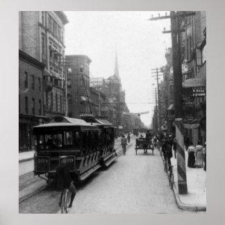 トロントの通りScene 1900年 ポスター