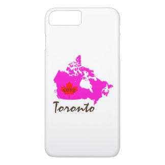 トロントオンタリオの電話箱愛カナダ iPhone 8 PLUS/7 PLUSケース