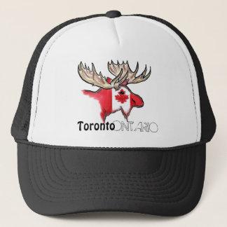 トロントオンタリオカナダのローカル旗のオオシカの帽子 キャップ