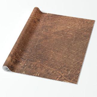 トロントカナダ(1876年)のヴィンテージの絵解き地図 ラッピングペーパー