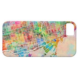 トロント都市通り地図 iPhone SE/5/5s ケース